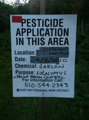 EBRPD pesticide notification